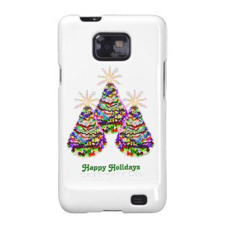 Electric Christmas Trees Samsung Galaxy SII Cover