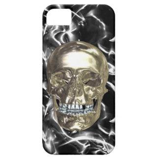Electric Chrome Skull iPhone 5 Case