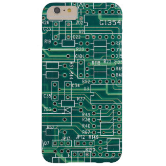 Electric circuit layout barely there iPhone 6 plus case
