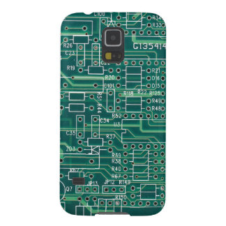 Electric circuit layout case for galaxy s5