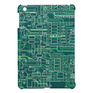 Electric circuit layout case for the iPad mini