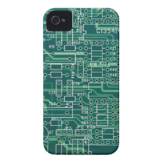 Electric circuit layout iPhone 4 Case-Mate cases