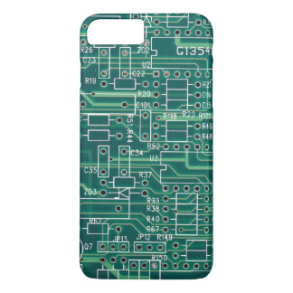 Electric circuit layout iPhone 7 plus case