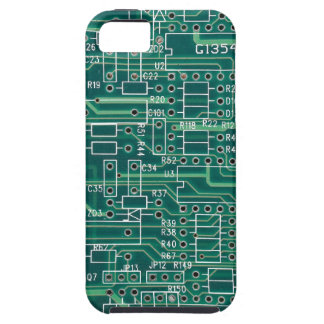 Electric circuit layout iPhone SE/5/5s case
