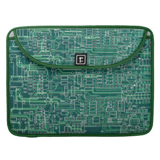 Electric circuit layout MacBook pro sleeves