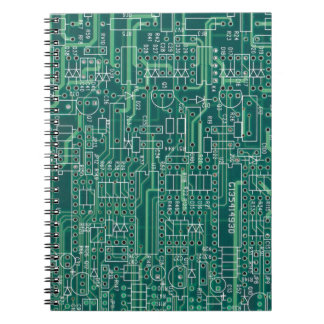 Electric circuit layout notebook