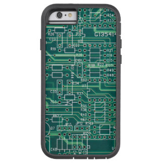 Electric circuit layout tough xtreme iPhone 6 case