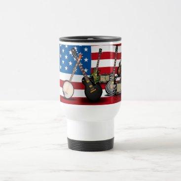 bartonleclaydesign Electric Classic's - USA Travel Mug