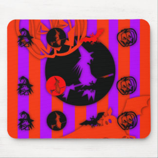 Electric Colors - Halloween - Mouse Pad