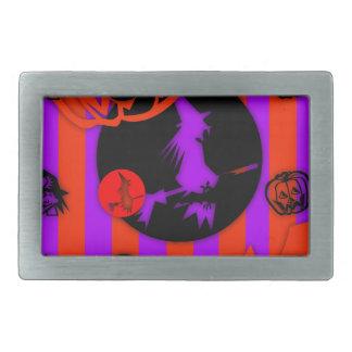 Electric Colors - Halloween - Rectangular Belt Buckle