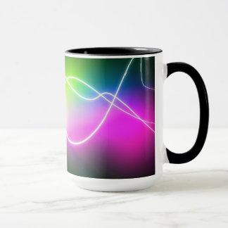 Electric colors - mug