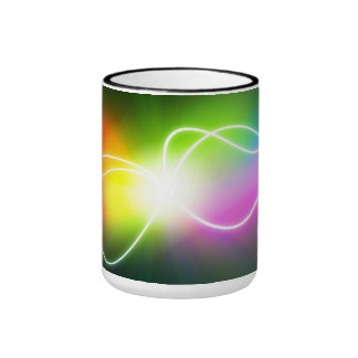 Electric colors - ringer mug