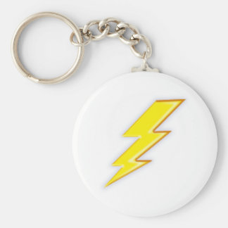 Electric + Company! Basic Round Button Keychain