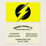 electrician, electric company, lightning bolt