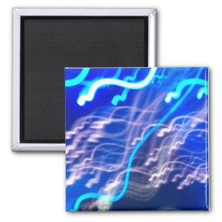 Electric Confeti 2 Inch Square Magnet