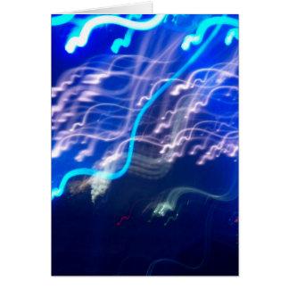 Electric Confeti Card