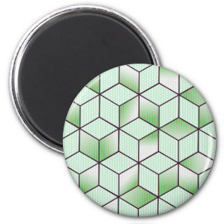 Electric Cubic Knited Effect Design Magnet