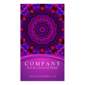 Electric Current mandala Double-Sided Standard Business Cards (Pack Of 100)
