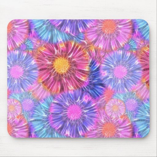Electric Daisies Mouse Pad