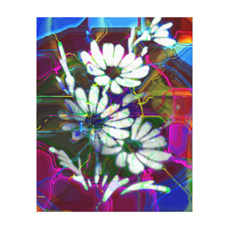 Electric Daisy's II Canvas Print