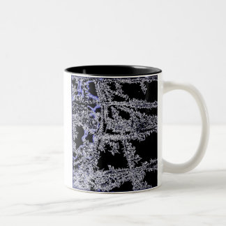 Electric diamonds mug by Calamityjan