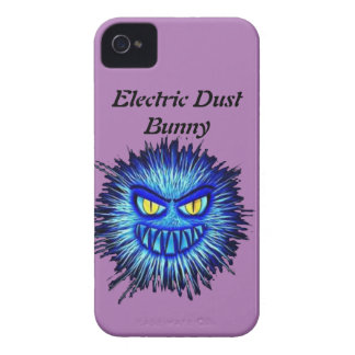 Electric Dust Bunny iPhone 4 Cover