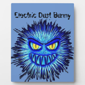 Electric Dust Bunny Plaque