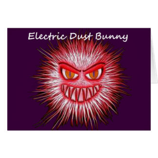 Electric Dust Bunny The Coal Blacks Part 2 Card