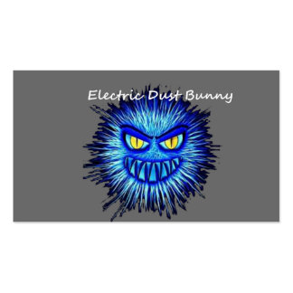 Electric Dust Bunny The Coal Blacks Part 2 Double-Sided Standard Business Cards (Pack Of 100)