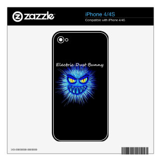 Electric Dust Bunny The Coal Blacks Part 2 Skins For iPhone 4
