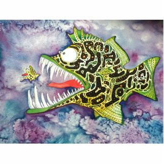 """""""Electric Ed"""" Fish With Attitude Statuette"""