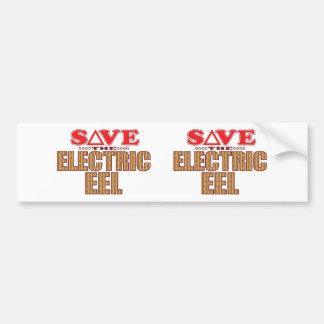 Electric Eel Save Bumper Sticker