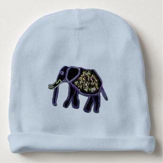 Electric Elephant Baby Beanie
