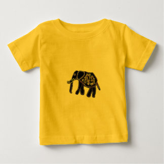 Electric Elephant Baby T-Shirt