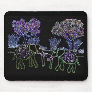 Electric Elephants Mousepads