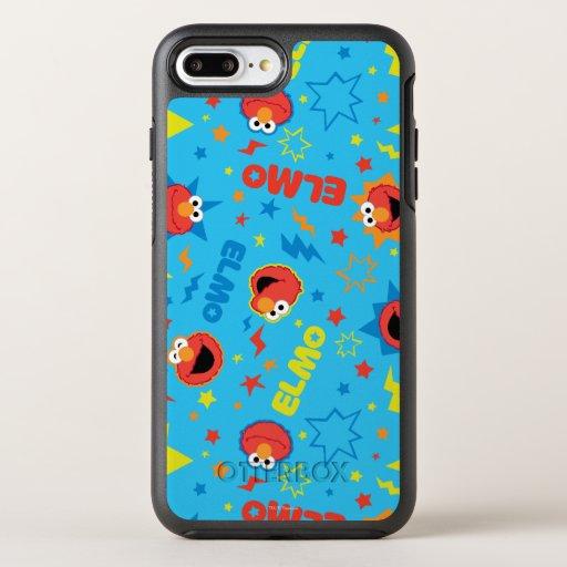 Electric Elmo Pattern OtterBox Symmetry iPhone 8 Plus/7 Plus Case