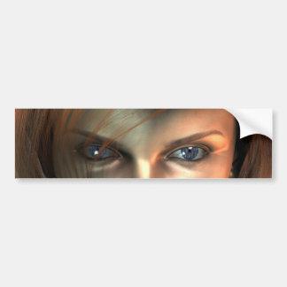 Electric eye bumper stickers