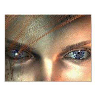 Electric eye card