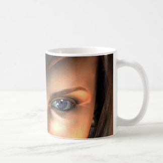 Electric eye coffee mug