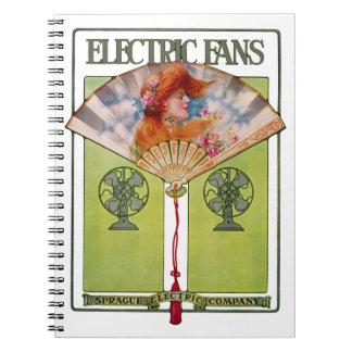 Electric Fan Ad Notebook