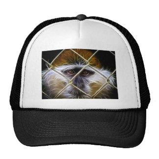 Electric Fence Monkey Trucker Hat
