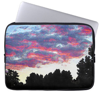 "Electric Fire Clouds 13"" Laptop Sleeve"