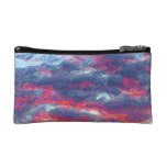 """Electric Fire Clouds""   (Clouds only) Makeup Bag"