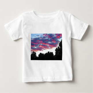 Electric Fire Clouds Infant T-Shirt