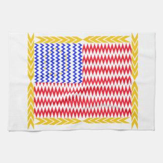 Electric Flag Towel