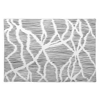 Electric flow cloth placemat