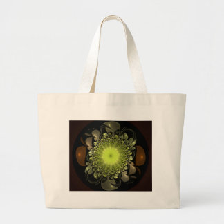 Electric Flower Canvas Bags