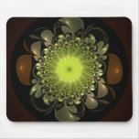 Electric Flower Mouse Pad