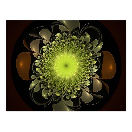 Electric Flower Postcard