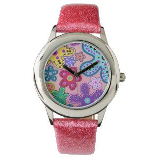 Electric Flower Power Watch